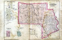 Jasper Township, Bloomingburg, Plymouth, Milledgeville, West Lancaster, Fayette County 1875