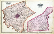 Union Township, Green Township, Fayette County 1875