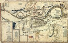Fort Meigs and Environs 1813 17x26, Fort Meigs and Environs 1813