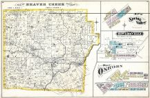 Beaver Creek, Spring Valley, Bowersville. Osborn, Greene County 1874