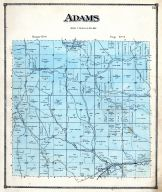 Adams Township, Cassels Station, Mantua, Creighton P.O., Guernsey County 1870
