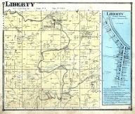 Liberty Township, Kimbolton P.O., New Salem, Guernsey County 1870