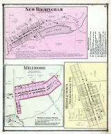 New Birmingham, Millwood, Middletown, Middlebourne P.O., Guernsey County 1870