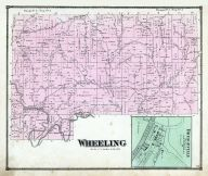 Wheeling Township, Bridgeville, Wills Creek, Guernsey County 1870