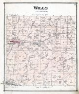Wills Township, Campells Station, Washington, Easton, Elizabethtown, Gombor P.O., Guernsey County 1870