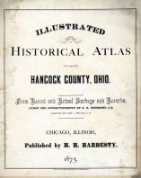Title Page, Hancock County 1875
