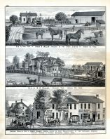 Henry Kaiser, R.D. Millar, James R. Millar, Carriage Works, Buggies, Spring Wagons, Sleighs, Residence, Farm,
