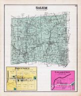 Salem Township, Price Town, Pulse P.O., Taylorsville, Littleton P.O., Hollowtown, Highland County 1887