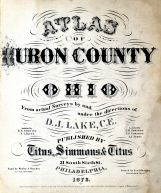 Title Page, Huron County 1873