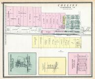 Collins, Weavers Corners, Woodford, Boughton, Huron County 1891