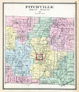 Fitchville, Clinton, Huron County 1891