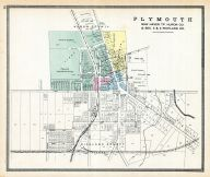 Plymouth, Huron County 1891