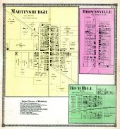 Martinsburgh, Brownsville, Rich Hill P.O., Knox County 1871