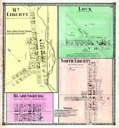 Mt. Liberty, Bladensburg, Lock, North Liberty, Knox County 1871