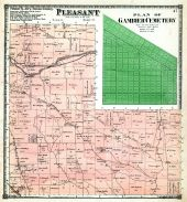 Pleasant Township, Gambier Cemetery - Plan, Knox County 1871