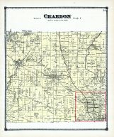 Chardon Atlas Lake And Geauga Counties 1874 Ohio Historical Map