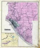 Upper Township, Ironton, Old Maidville, Coal Grove, Petesburg, Newton, New Castle, Lawrence County 1887