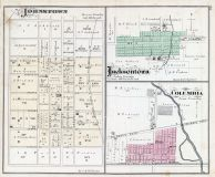 Johnstown, Jacksontown, Columbia, Licking County 1875
