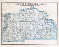 Licking Township, Jacksontown, Licking County 1875