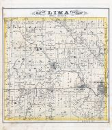 Lima Township, Pateakala, Columbia, Licking County 1875