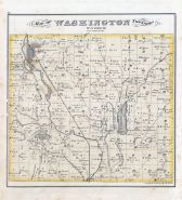 Washington Township, Utica, Smoots Lake, Prairie Lake, Licking County 1875