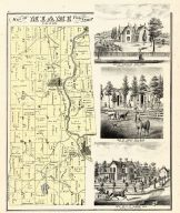 Miami Township, Spellman, Hellman, Speece M.D., Logan County 1875
