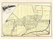West Liberty, Logan County 1875