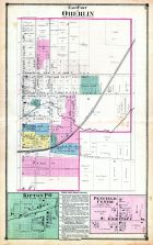 Oberlin - East, Kipton P.O., Penfield Centre, Lorain County 1874