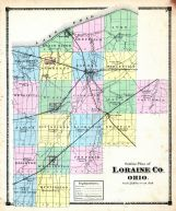 Outline Map, Lorain County 1874