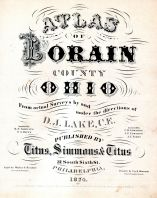 Title Page, Lorain County 1874