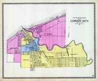 Index Map - Lorain City, Lorain County 1896