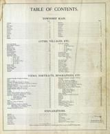 Index Page, Lorain County 1896