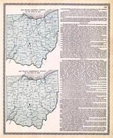 Ohio Senatorial Districts and Congressional Districts Map, Lorain County 1896