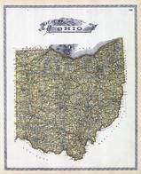 Ohio State Map, Lorain County 1896