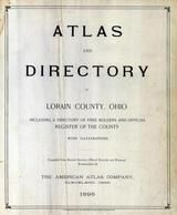 Title Page, Lorain County 1896