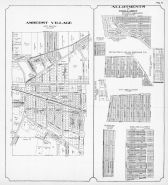 Amherst Village - East, Sheffiel Township, Oakwood, Ridgewood, Blass, City View, Lorain County 1912