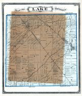Lake Township, Milbury, Latcha, Lucas County and Part of Wood County 1875 Including Toledo