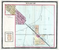 Milbury, Latcha, Lucas County and Part of Wood County 1875 Including Toledo