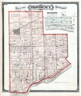 Prividence Township, Neapolis, Maumee River, Lucas County and Part of Wood County 1875 Including Toledo