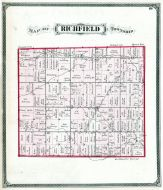 Richfield Township, Lucas County and Part of Wood County 1875 Including Toledo