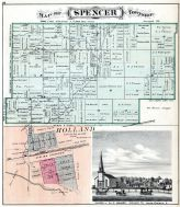 Spencer Township, Holland, Ten Mile Creek, Lucas County and Part of Wood County 1875 Including Toledo