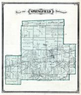 Springfield Township Ohio Map.Springfield Township Holland Atlas Lucas County And Part Of Wood
