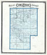 Swanton Township, Lucas County and Part of Wood County 1875 Including Toledo