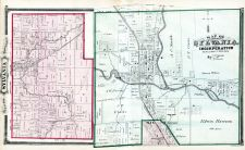 Sylvania Township, Ottawa River, Ten Mile Creek, Lucas County and Part of Wood County 1875 Including Toledo