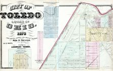 Toledo City, Lucas County and Part of Wood County 1875 Including Toledo