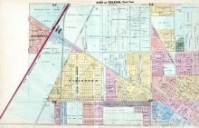 Toledo City 002, Lucas County and Part of Wood County 1875 Including Toledo