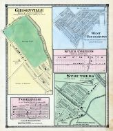 Gibsonville, Rosterville, West Youngstown, Kyle`s Corners, Struthers, Mahoning County 1874