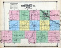 Outline Map, Mahoning County 1874