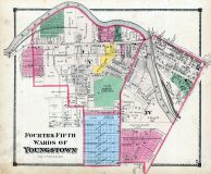 Youngstown - Fourth and Fifth Wards, Mahoning County 1874