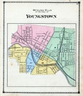 Youngstown City - Outline Plan, Mahoning County 1874